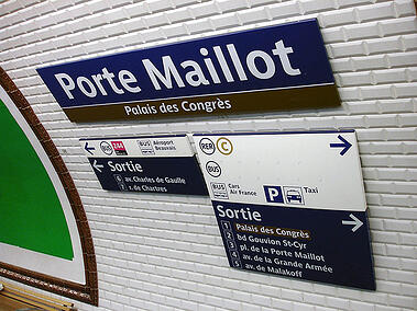 Edugroupe metro porte de maillot
