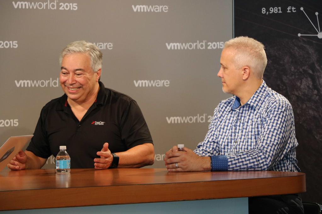 George Teixeira, CEO de DataCore au VMworld 2015