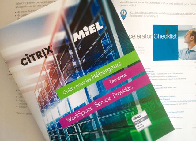 Guide MIEL pour devenir Citrix Workspace Service Providers