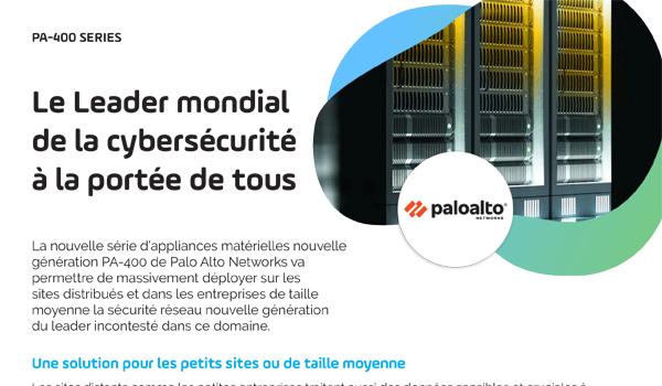 Doc Palo Alto Networks PA-400 - Image