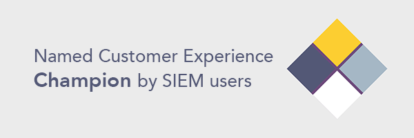 LogPoint nommé Champion de l'expérience client SIEM et UEBA - Image